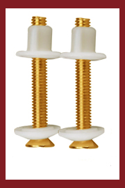 Brass Toilet Seat Bolts
